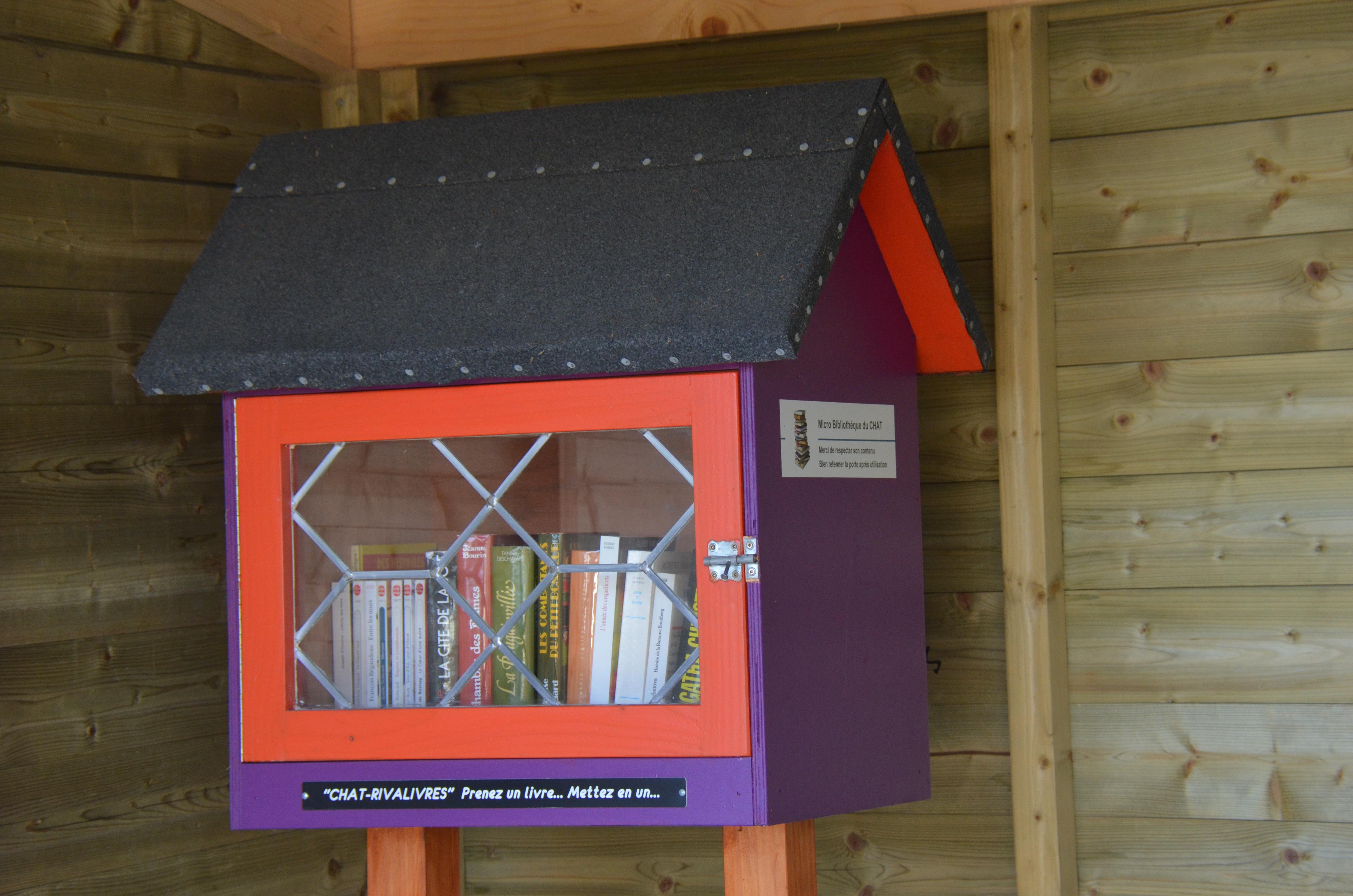 Bibliothèque LE CHAT