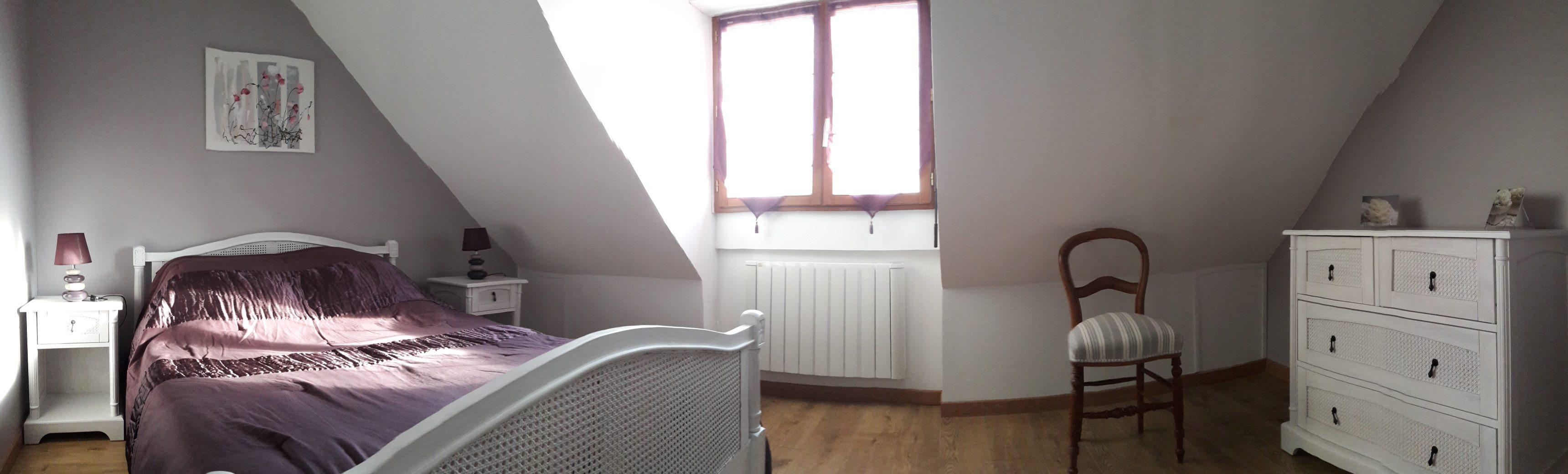 Chambre 1 Côté Pensées
