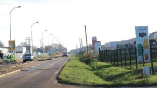 vue de l'entrée de Goderville