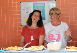 assistantes maternelles pendant la fête Nounouland
