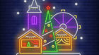 Marché de Noël par le rêve des p'tites Canailles