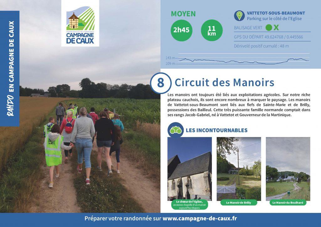 Circuit 8 Vattetot Sous Beaumont Page 1